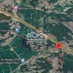 đất huyện duy xuyên 2300m² 2 mặt tiền đường to