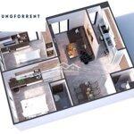 Cho thuê chung cư âu cơ tầng 4 giá siêu rẻ 35m2