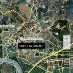 Bán ô đất 187.5m mặt chợ tt xã tiền an, tp.quảng yên, quảng ninh
