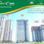 Bán căn hộ 62m2 tầng 10 đẹp nhất dự án chỉ hơn 700 triệu