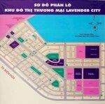 đất lavender city 90m2 - hỗ trợ vay ngân hàng 70%
