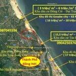 đất biển quảng bình 3 triệu - 6 triệu mét vuông ( đường 10,5 mét)