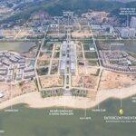 Shophouse harbor bay 3 mặt giáp vịnh hạ long, 360m2 sàn xây dựng, sổ đỏ vĩnh viễn, giá chỉ 5,x tỷ