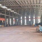 Cho thuê nhà xưởng 6010m2 tại hà nam, kcn hòa mạc (có ảnh)