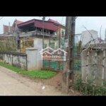 Cần bán lô đất mặt tiền đường liên xã sổ đỏ chính