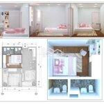 Chung cư tp bến tre 50m² 2 phòng ngủnh cho vay 70%,shr