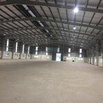 Cho thuê nhà xưởng 4000m2 tại phố nối, hưng yên.diện tích4000m2, xưởng mới tiêu chuẩn cách ql5 400m