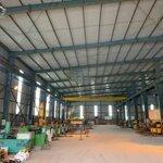 Bán 5000m2 đất có sẵn 2500m2 nhà xưởng tại văn lâm, hưng yên