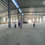 Cho thuê 5400m2 kho xưởng trên tổng diện tích sử dụng 9032m2 tại an dương, hải phòng