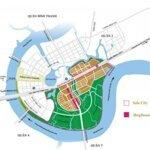 Bán shophouse sala đại quang minh mặt tiền nguyễn cơ thạch phường an lợi đông quận 2 giá bán 34 tỷ