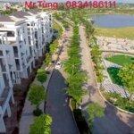 Bán lô biệt thự đơn lập 240m2 tại kđt bách việt - nơi đáng sống nhất thành phố bắc giang