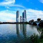 Bán gấp căn hộ 2 pn cao cấp, aqua bay ecopark, giá rẻ nhất thị trường 1.25 tỷ, liên hệ: 0989139590