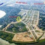 Bán đất mặt sông river silk city, 110m2, giá rẻ