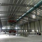 Cho thuê diện tích xưởng 3000m2 trong khuân viên 5000m2 đất tại cẩm giàng, hải dương