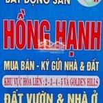 Hòa liên 5 /4/3/2 g odenhills đường 5,5m giá bán 1,4ty
