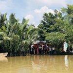 đất mặt sông, đường ô tô khu dân cư gần kcn ông kèo, giá bán 1,65 triệu/m2