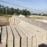Mặt bằng đất đang sản xuất vật liệu xây dựng