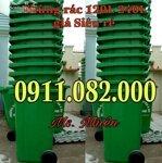 Nơi bán thùng rác giá rẻ tại đồng tháp- sỉ lẻ các loại thùng rác môi trường- lh 0911.082.000
