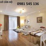Cho thuê căn hộ chung cư 267 hoàng hoa thám, ba đình, 75m2, 3 phòng ngủ nội thất rất đẹp, 7 tr/th