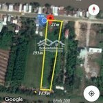 Chính chủ bán đất mặt tiền quốc lộ 80, diện tích(21x155) công nhận 2.039m2 giá bán 1.35 tỷ bao hết-0909865538