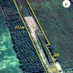 Bán đất mặt tiền kinh tám ngàn, kg, xã bình sơn diện tích 20x451m nở hậu 31m, chốt giá bán 1.65 tỷ- 0909865538