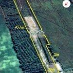 Bán đất mặt tiền kênh tám ngàn, kg, xã bình sơn diện tích 20x451m nở hậu 31m, chốt giá bán 1.6 tỷ, 0909865538