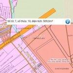 509m2 đất mặt tiền đường 47m-kcn giang điền bh