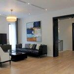 Cho thuê biệt thự đơn lập vinhomes riverside, 300m2 x 4 phòng ngủ, full nội thất cao cấp