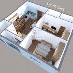 Căn hộ 2 phòng ngủgóp 0 lãi tp bến tre 50m2 hoàn thiện