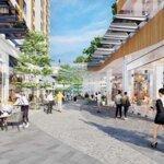 Bán căn shop chân đế 2 tầng hướng đn view phố đi bộ hàn quốc ecopark sky oasis, giá bán 6,6 tỷ