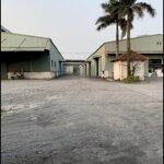 Chuyển nhượng nhanh lô đất nhà xưởng 3.2 ha kcn phố nối a hưng yên, giá rẻ