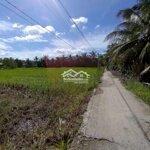 Bán đất công xã phú nhuận mặt tiền lộ bờ dừa