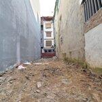 Bán đất cách mặt phố kim ngưu mấy bước chân - trước nhà ô tô tải tránh