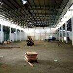 Cho thuê xưởng 1100m2 ven ql 5 tại tp hải dương