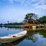 Suất ngoại giao liền sông làng hà lan ecopark - resort giữa lòng hà nội - cơ hội đầu tư hiếm có