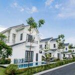 Biệt thự thanh liên tại khu nghỉ dưỡng khoáng nóng vườn vua full nội thất, bể bơi, ln 12%/năm