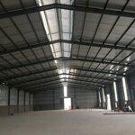 Cho thuê kho xưởng ở ngô quyền, hải phòng, 2000m2, ngăn nhỏ theo nhu cầu khách hàng từ 500m2