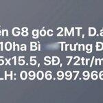 Bán nền g8, phú nhuận 10ha bình trưng đông q2, đối diên lakeview 15x15.5, 72 tr/m2. liên hệ: 0906997966