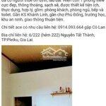 Nhà trọ rung tâm giá rẻ