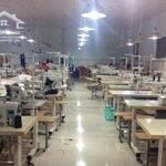 Bán nhà xưởng và toàn bộ dây chuyền sản xuất hàng may xuất khẩu tại thái nguyên và tỉnh nam định