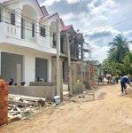 Nhà mới 1 trệt 1 lầu phú nhuận tp bến tre 75m2.