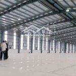 Cho thuê kho xưởng tại khu cn phùng đan phượngdiện tích2400m2 khung zamil cao trên 10m /giá 65k/m2