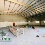 Cho thuê nhà xưởng hơn 1.200m2 đường xe tải 8 tấn thuộc hố nai, biên hoà - 0976711267 - 0934855593