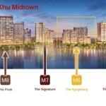 Gia đình tôi cần bán lại căn hộ 02 phòng ngủ85m2 tòa m7 dự án midtown phú mỹ hưng q7 view sông saigon