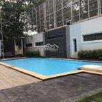 Cho Thuê Villa Thảo Điền 1200M2, Trệt 3 Lầu 9 Phòng Thiết Kế Hiện Đại Có Hồ Bơi