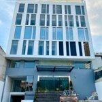Cho thuê tòa nhà văn phòng mới hầm 7 lầu 2000m2 trần não bình an quận 2 ms:538