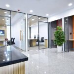 Cho thuê văn phòng nguyễn thị thậpdiện tích600m2 180 triệu/ tháng