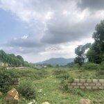 Lô đất nằm kề dự án tại xã yên bài ba vì-hn