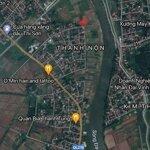 Bán đất xã thanh sơn, kim bảng, hà nam, view sông đáy