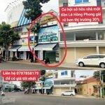 Bán nhà mặt tiền lê hồng phong, thành phố nha trang -diện tích74m2 ngang 4m giá rẻ hơn thị trường 30%